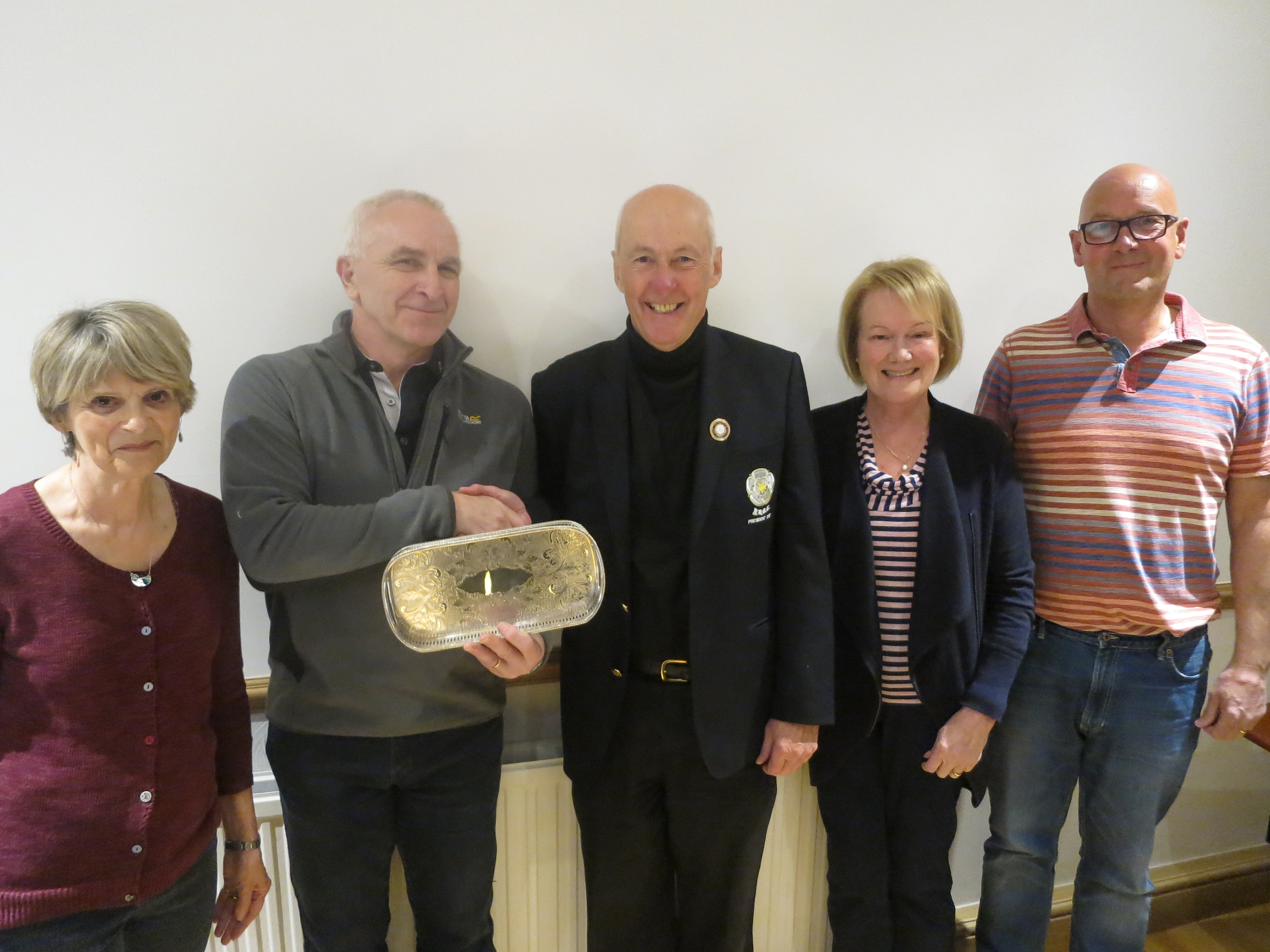 """Keighley GC win the """"Plate"""" Bridge competition."""