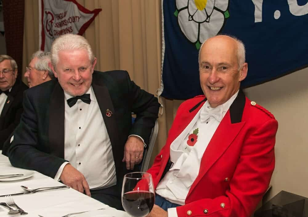 Dougie Donnelly and YUGC President