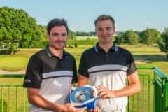 Two of the winning team from Shipley, l-r Daniel Thomas, Mathew Morrison.