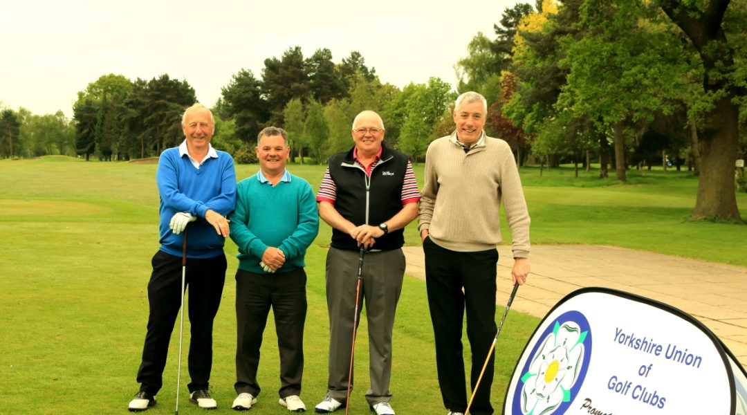 SPR1 winners Messrs Bodle and Elwis with playing partners Messrs Turner and Hodgson