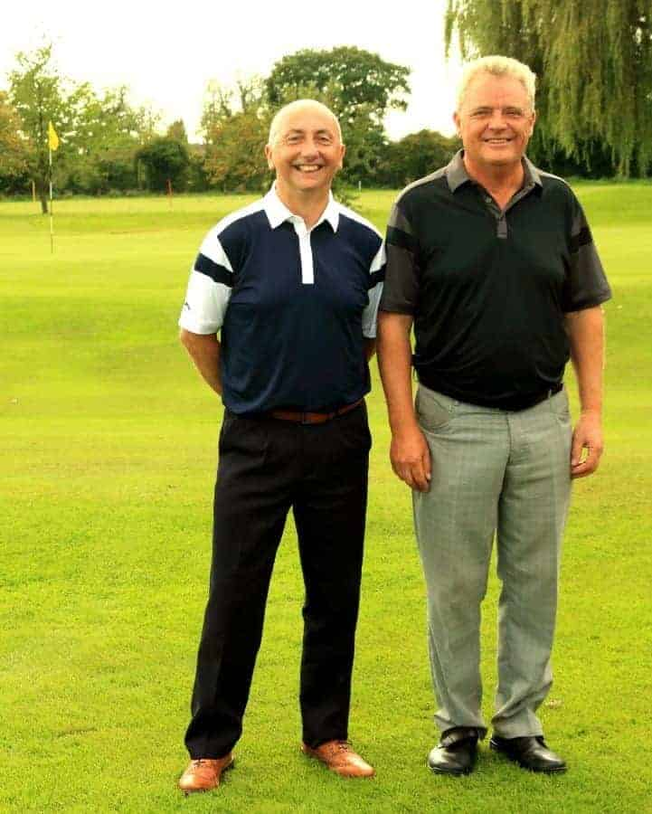 Winners Messrs Smith and Williams
