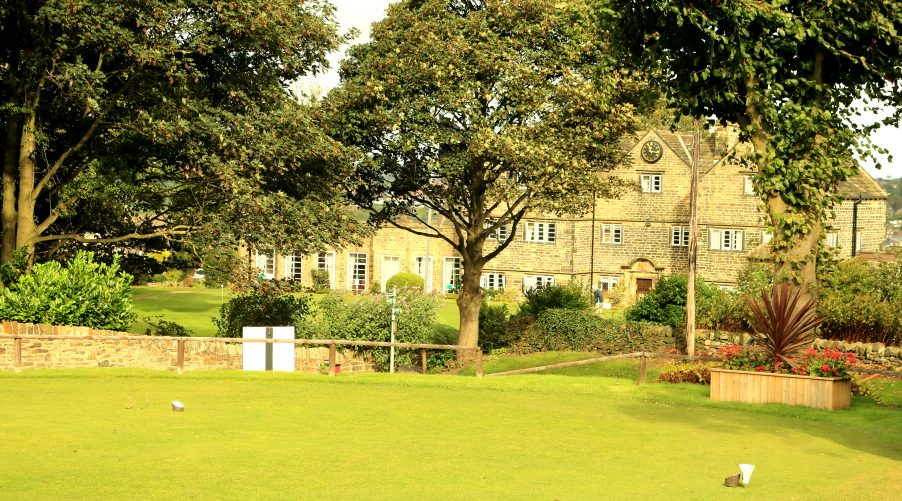 The Clubhouse from the first tee