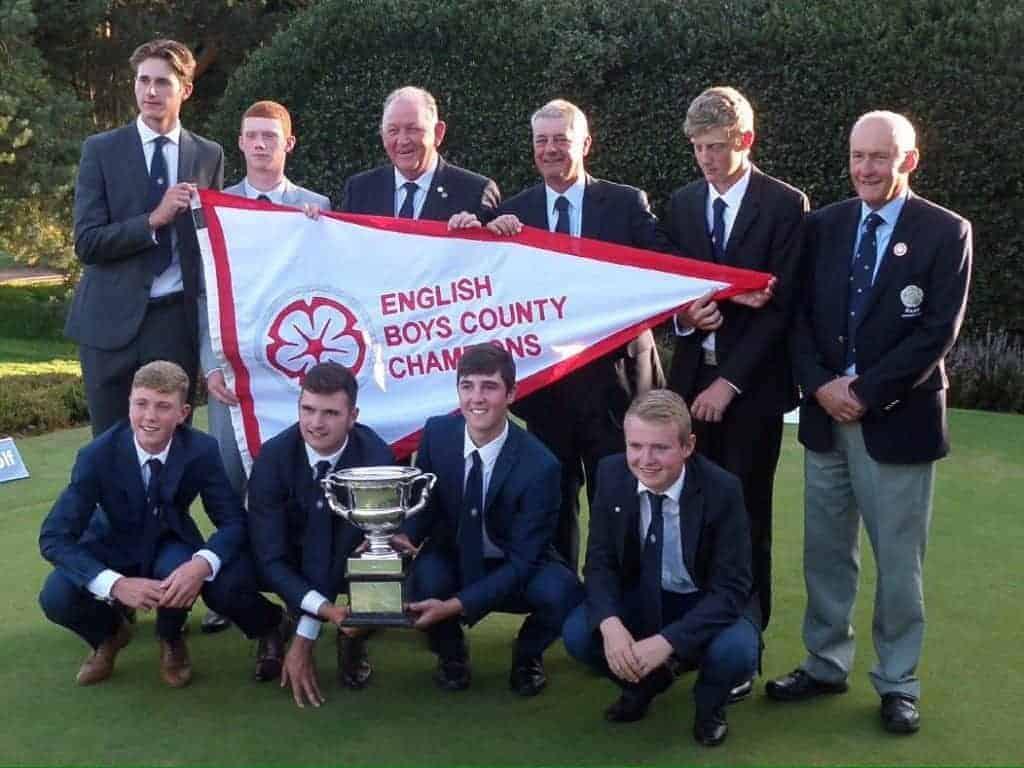 2017 English Boys' County Champions