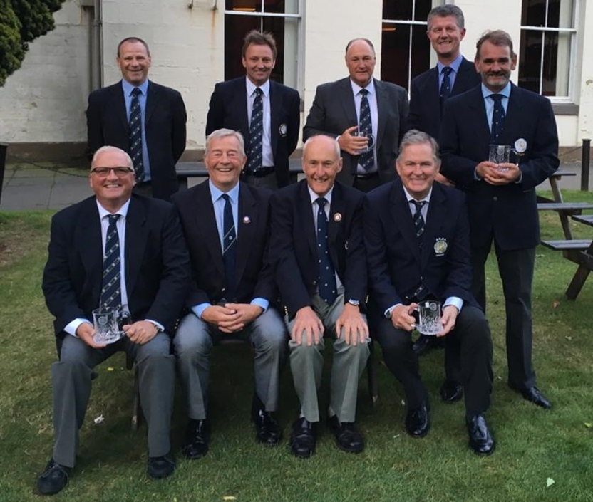 Yorkshire qualify for the English Seniors' County Finals