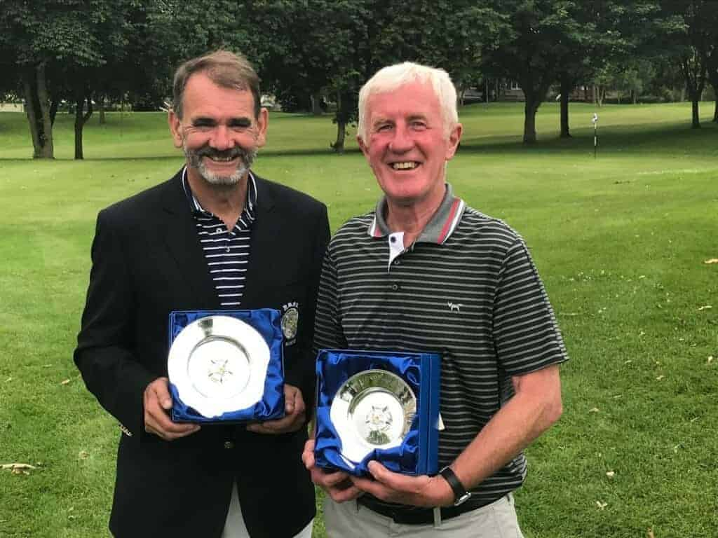 Andy King is the 2018 County Seniors' Champion