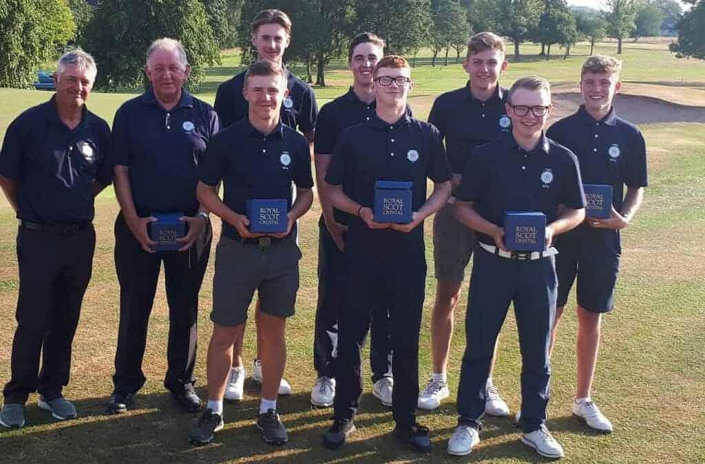 Yorkshire Boys Regain England Golf Northern Counties Qualifier