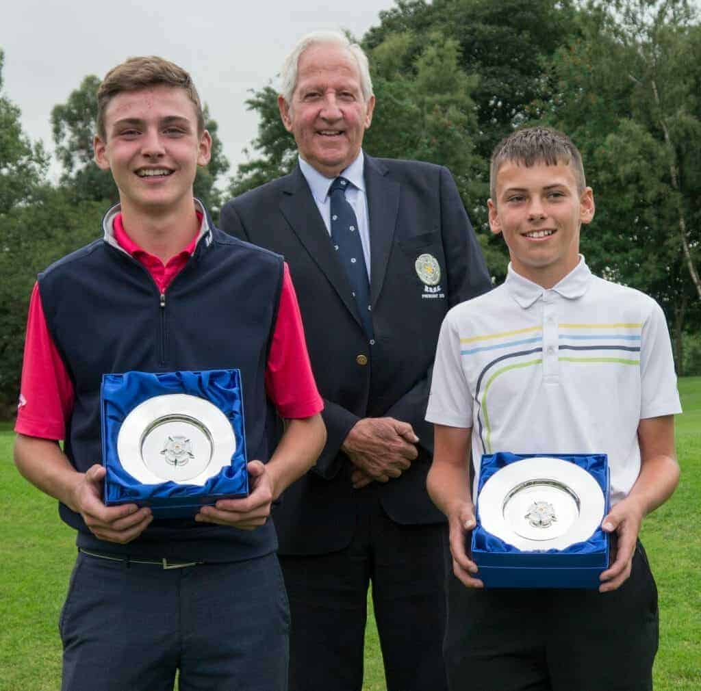 Harry Bramley (Fulford) is the 2018 Yorkshire U16 Boys' Champion