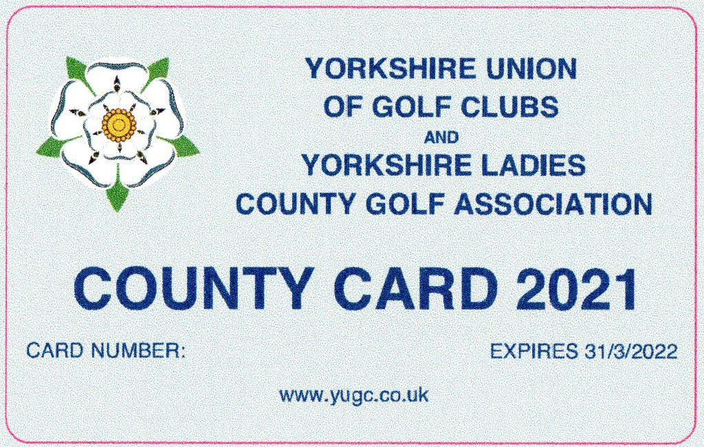 County Cards available
